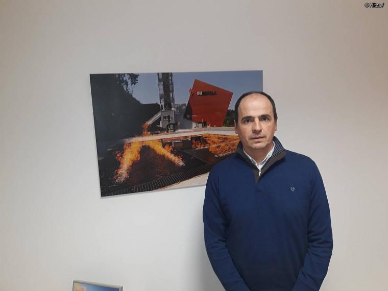 """Iñigo Aldasoro: """"Suarekin praktika ahalik eta errealenak egiten saiatzen gara"""""""