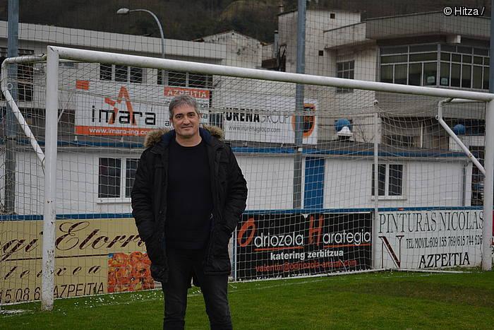 """Iñigo Arregi: """"Balioak lantzeko erreminta izan behar du futbolak"""""""