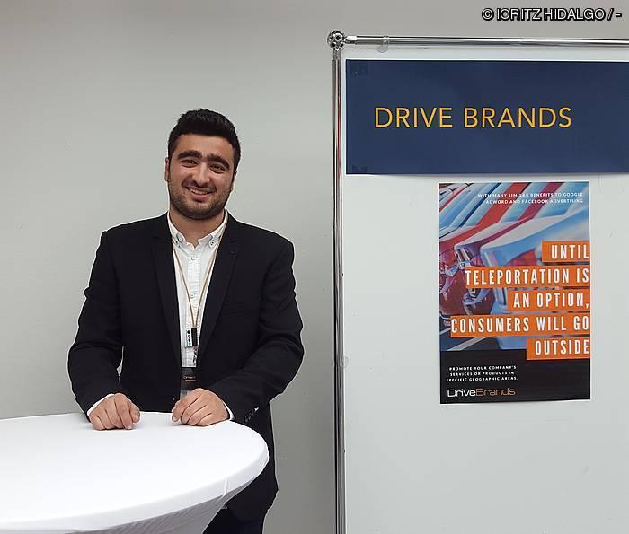 """""""Drive Brands ideia gisa sortu zen, eta proba fasean dago"""""""