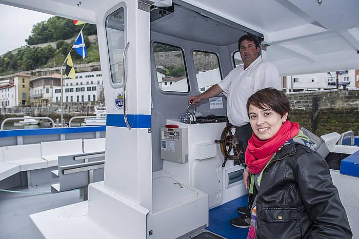 """""""Turistek lasai egoteko tartea hartzen dute barkuan"""""""
