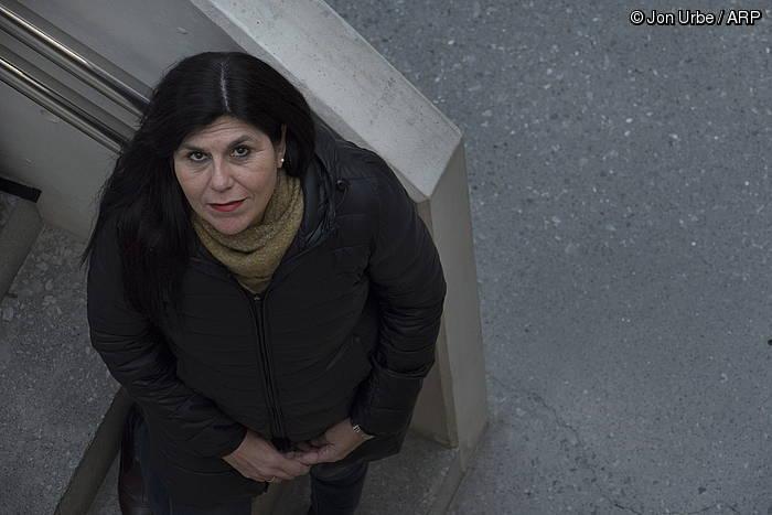 """Silvia Carrizo: """"Praktikan, esklabo lana onartu egiten du euskal gizarteak"""""""