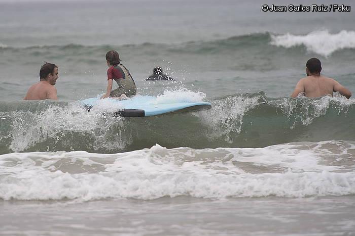 Surfaren olatu desorekatua